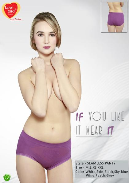 Maxx Selling Seamless Extra comfort Next To Skin Panty   Lovebird