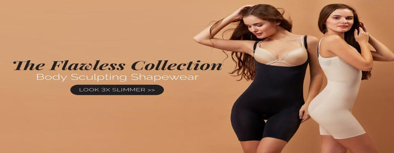 Shop full body shapers online at Lovebird Lingerie. Feel fablous & confident in our latest body shapers collection for women by India's Premium Lingerie Brand Lovebird Lingerie's Body Shaper ✯ Quality Assured