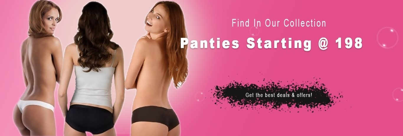 Buy low waist panties or women underwear online. Find a wide range of low waist panties for ladies and girls available in various sizes and colors at India's Premium Lingerie Brand Lovebird Lingerie