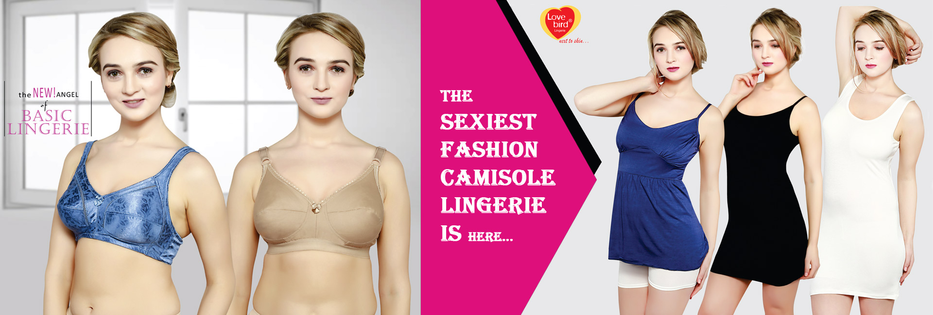 Buy Camisoles & Slips for Women in best quality only from Lovebird. Huge collection of women's camisoles & slips at low offer price & discounts. ♥ New Arrivals